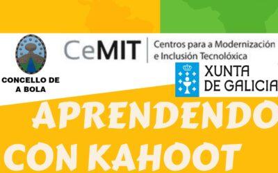 """""""Aprendendo con Kahoot!"""", unha nova proposta da nosa Aula CeMIT"""