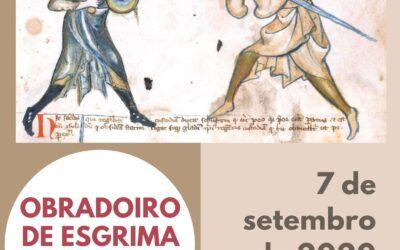 OBRADOIRO DE ESGRIMA ANTIGA NA ÁREA RECREATIVA