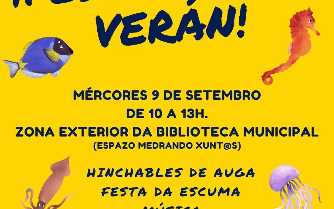 """FESTA DE FIN DE VERÁN NO """"ESPAZO MEDRANDO XUNT@S"""""""