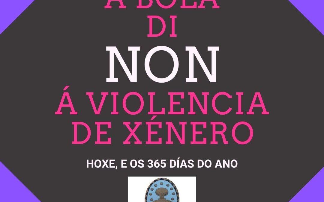 O CONCELLO DE A BOLA DI NON Á VIOLENCIA DE XÉNERO