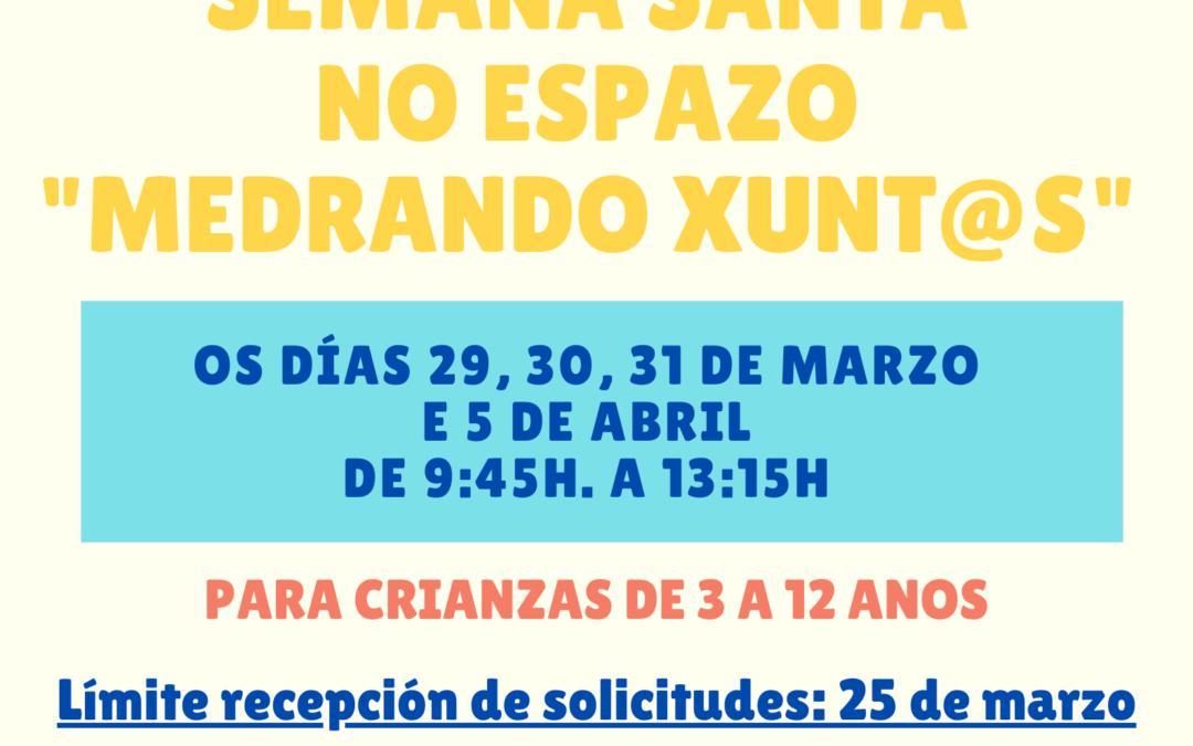 ACTIVIDADES DE LECER E EDUCATIVAS PARA AS CRIANZAS ESTA SEMANA SANTA NO CONCELLO DE A BOLA