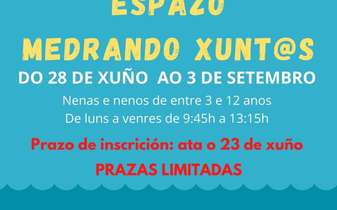 """ACTIVIDADES DE VERÁN NO """"ESPAZO MEDRANDO XUNT@S"""""""